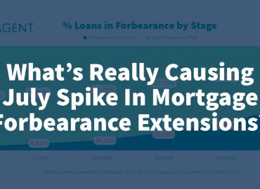 What's Really Causing July Spike In Mortgage Forbearance Extensions?